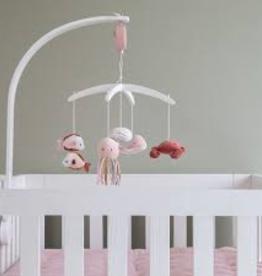 Little Dutch Houten muziekmobiel Ocean pink