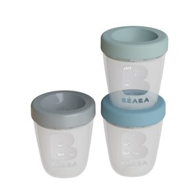 Béaba Set of 3 silicone portions jublge