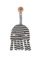 OYOY Baby Carrier Clip - Octopus - White / Black