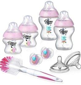 Tommee Tippee Newborn starter set anti-colic valve pink