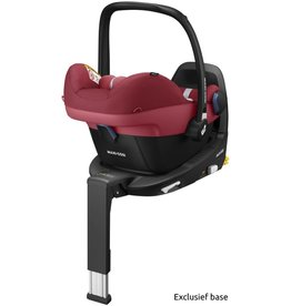 Maxi cosi Pebble Pro I size Essential Red inclusief Isofix basis