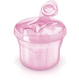 Avent Melkpoederverdeeldoos Roze