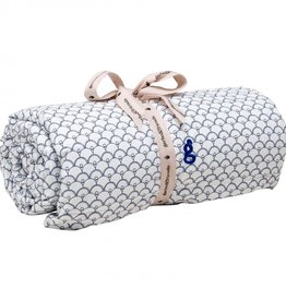 Garbo & friends Cupola blue filled blanket