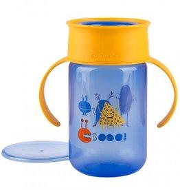 Suavinex 360 ° trainer cup blauw 12m+