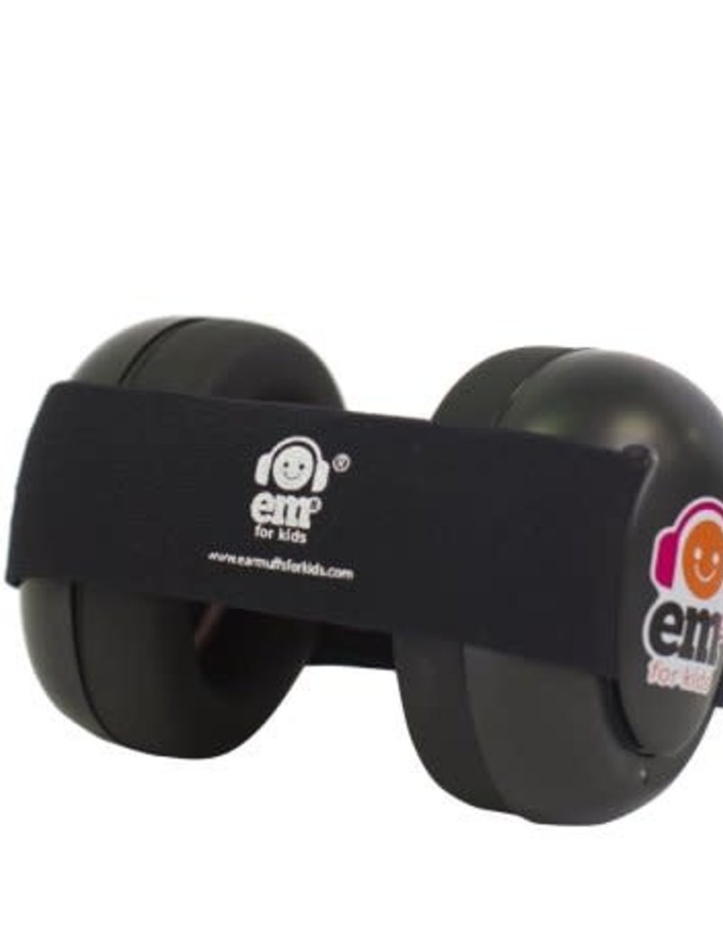 Em's For Kids Hearing protection black 0-18m