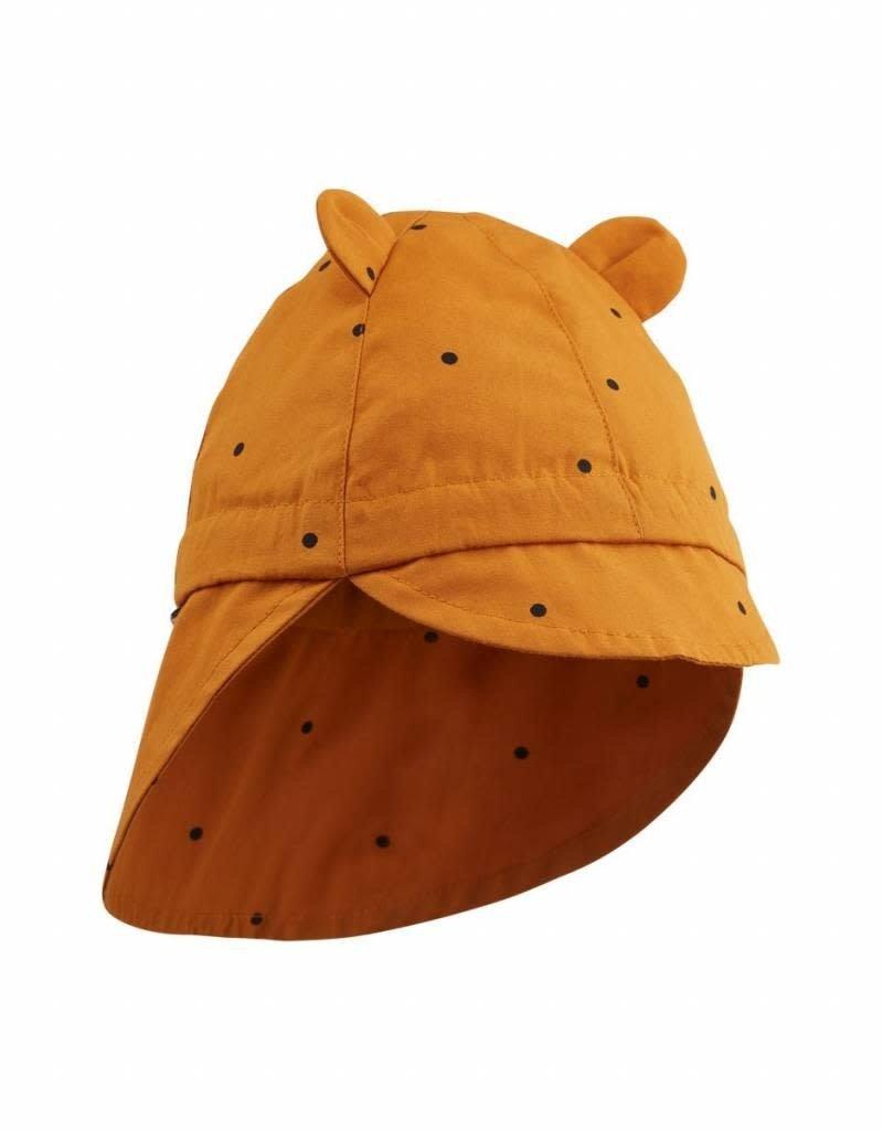 Liewood Chapeau de soleil classic dot mustard