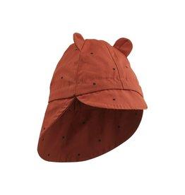 Liewood Chapeau de soleil classic dot rusty