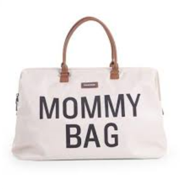 Childhome MOMMY BAG GROOT ECRU WIT