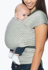 Ergobaby Aura baby wrap pearl grey wlagdrydot 3,5 kg - 11,5 kg