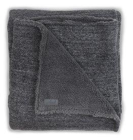 Jollein Deken 100x150cm Natural knit anthracite / teddy
