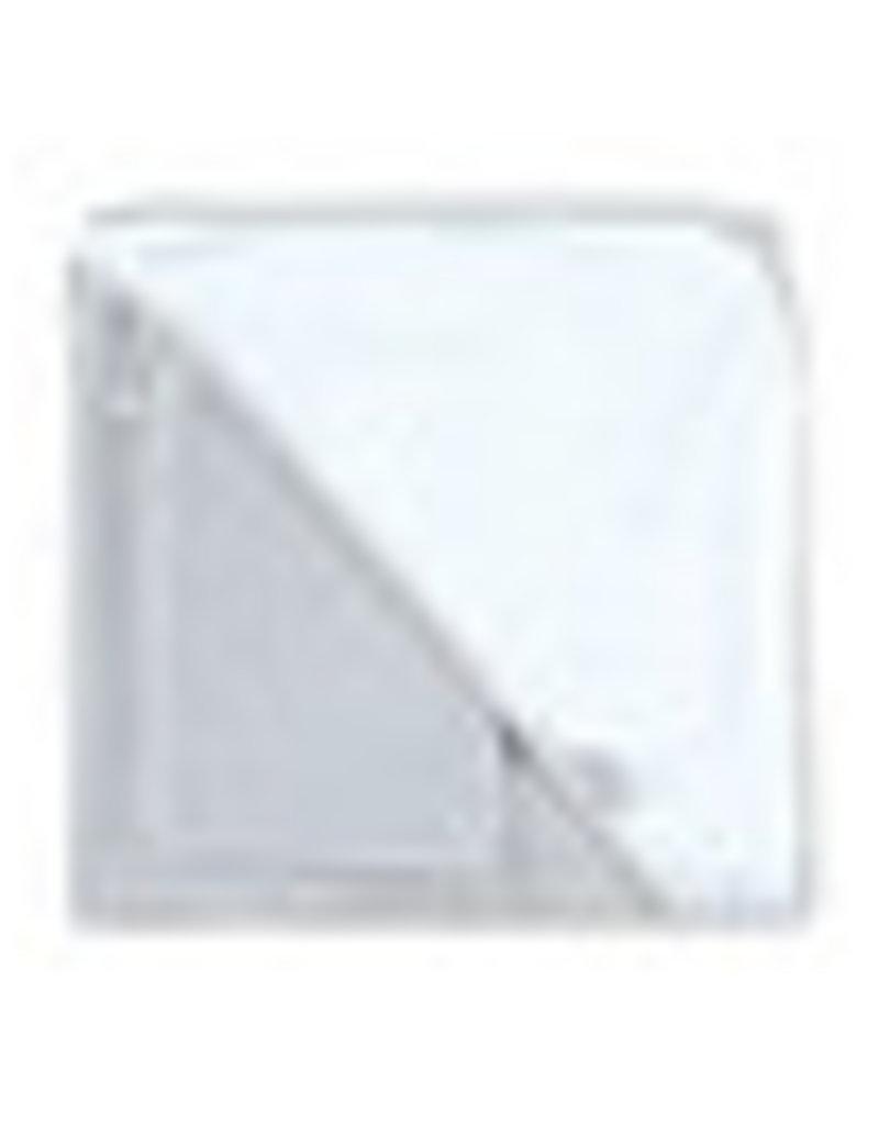 Bemini BADCAPE / 90x90cm / sterretjesprint lichtgrijs / bamboo - STARY90BU