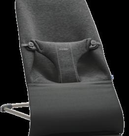 BabyBjörn Bouncer bliss charcoal grey 3D jersey