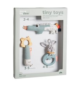Done by Deer Tiny activity toys gift set Deer friends Blue