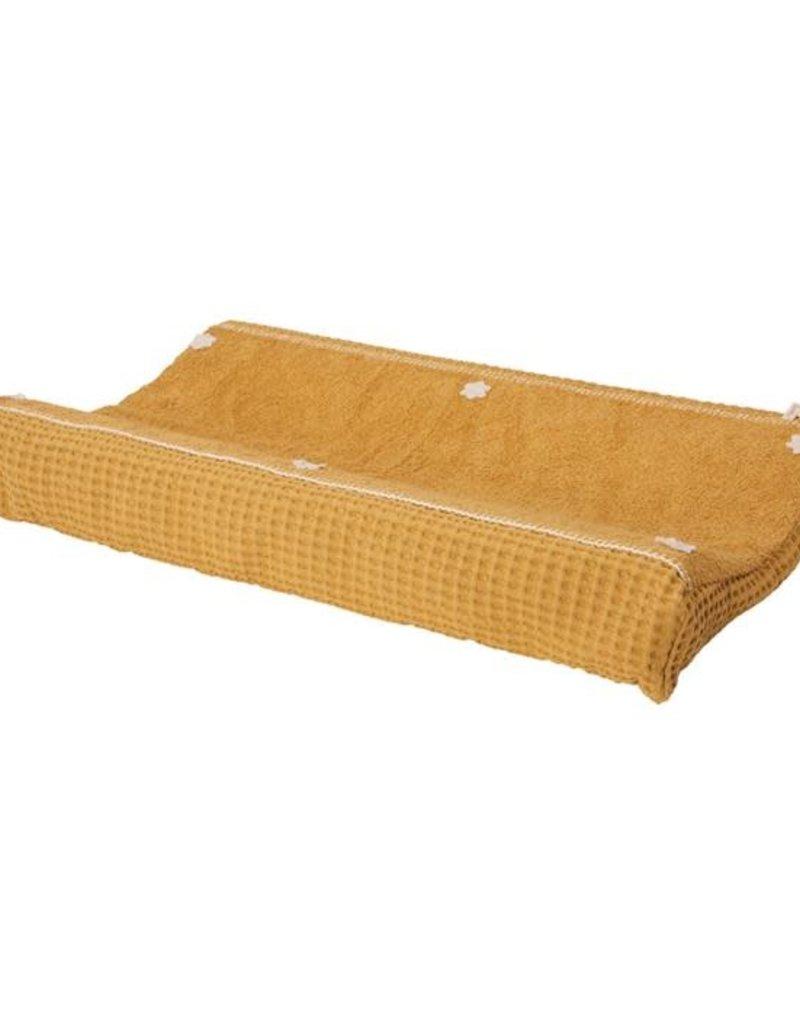 Koeka Aankleedkussenhoes wafel Amsterdam 45x73 ochre
