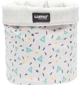Luma Panier de soins Design Shapes Mint petit