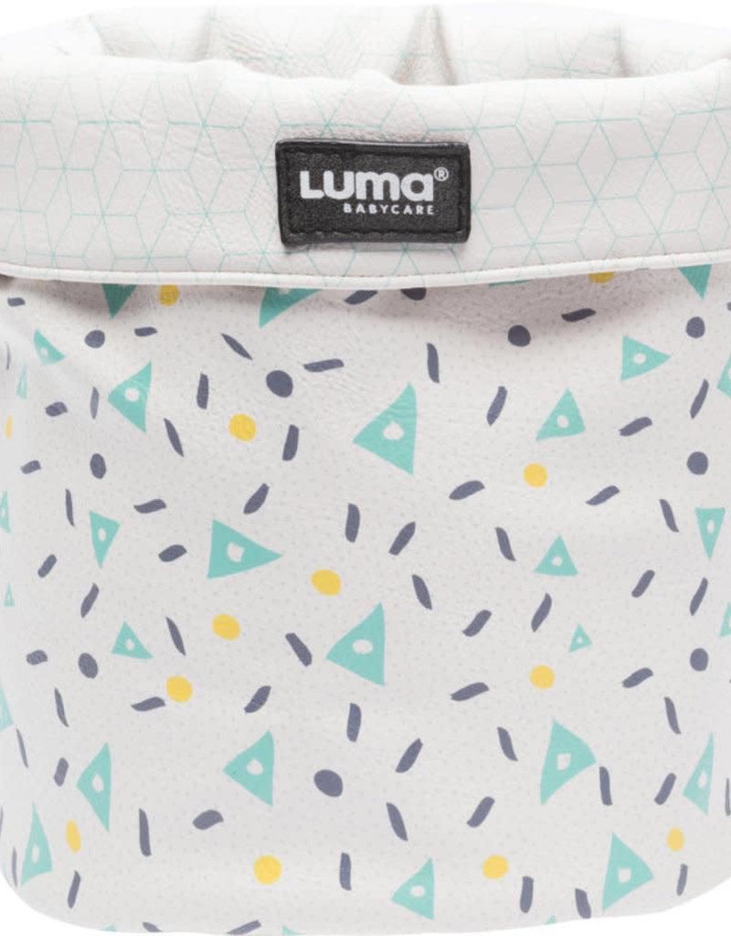 Luma Babycare Verzorgingsmandje Design Shapes Mint small