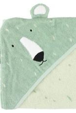 Trixie  Hooded towel | 75x75cm - Mr. Polar Bear