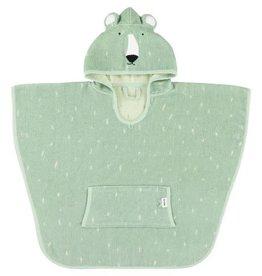 Trixie Poncho Mr. Polar Bear