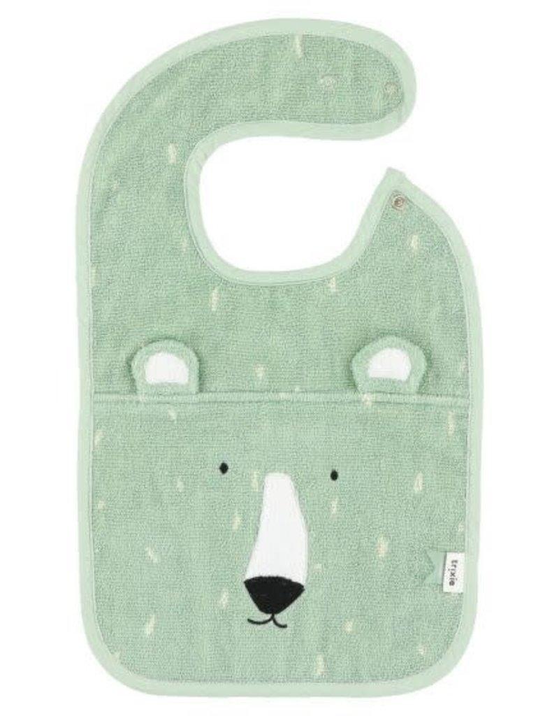 Trixie Bib - Mr. Polar Bear