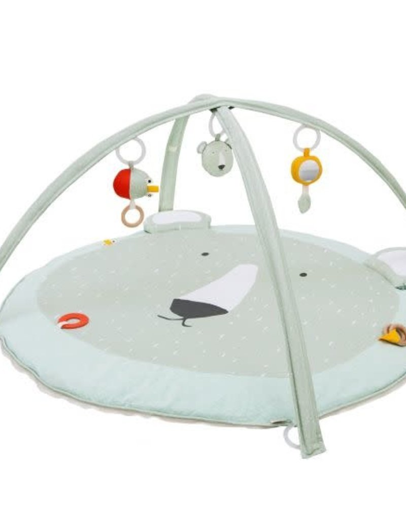 Trixie Activity play mat with arches - Mr. Polar Bear
