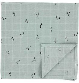 Trixie Muslin cloths | 110 x 110 Mountains