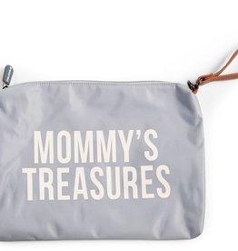 Childhome MOMMY'S TREASURES CLUTCH - GRIJS ECRU