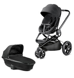 Quinny Buggy mood black 3 in 1 met pebble pro essential black