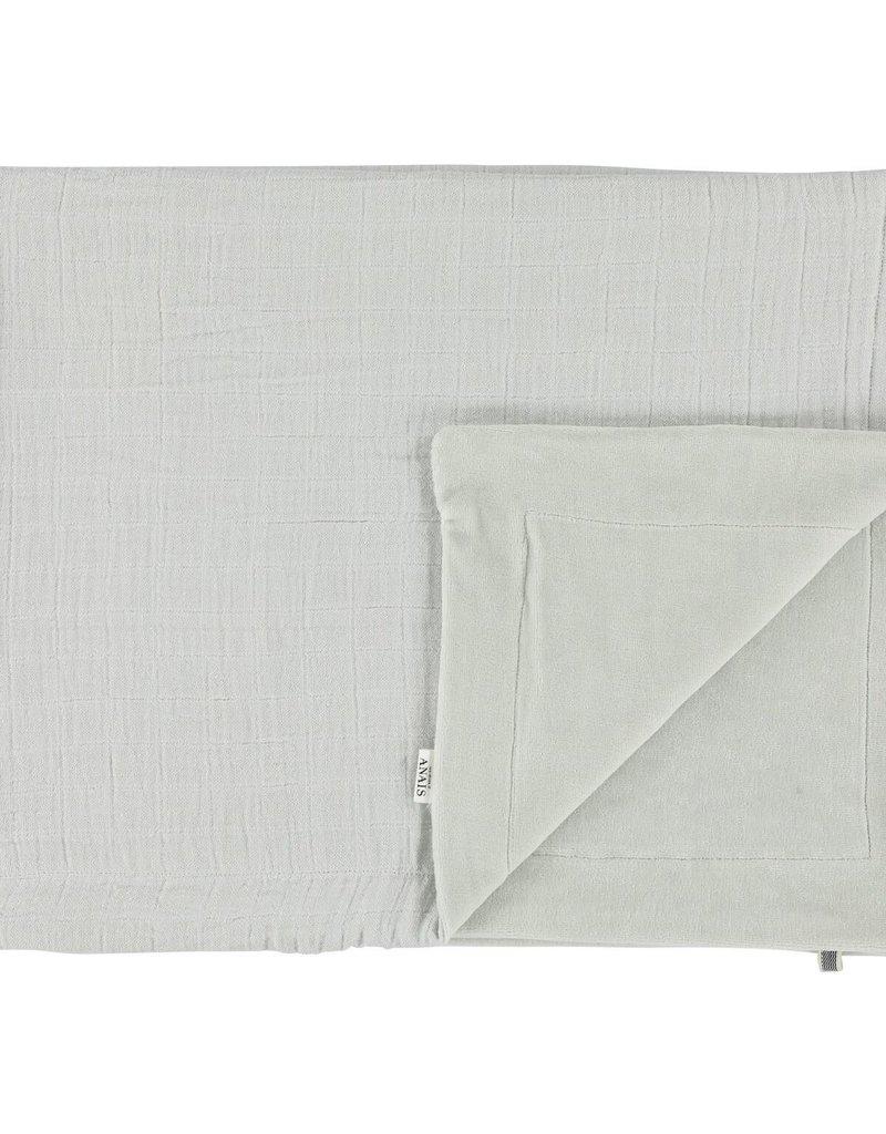 Les rêves d'Anaïs Blanket 75x100cm Bliss Grey & Fleece