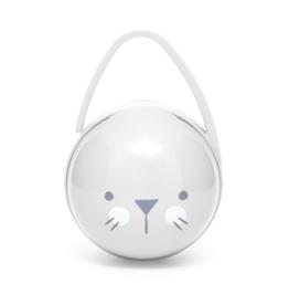 Suavinex Duo soother holder gebroken wit bunny