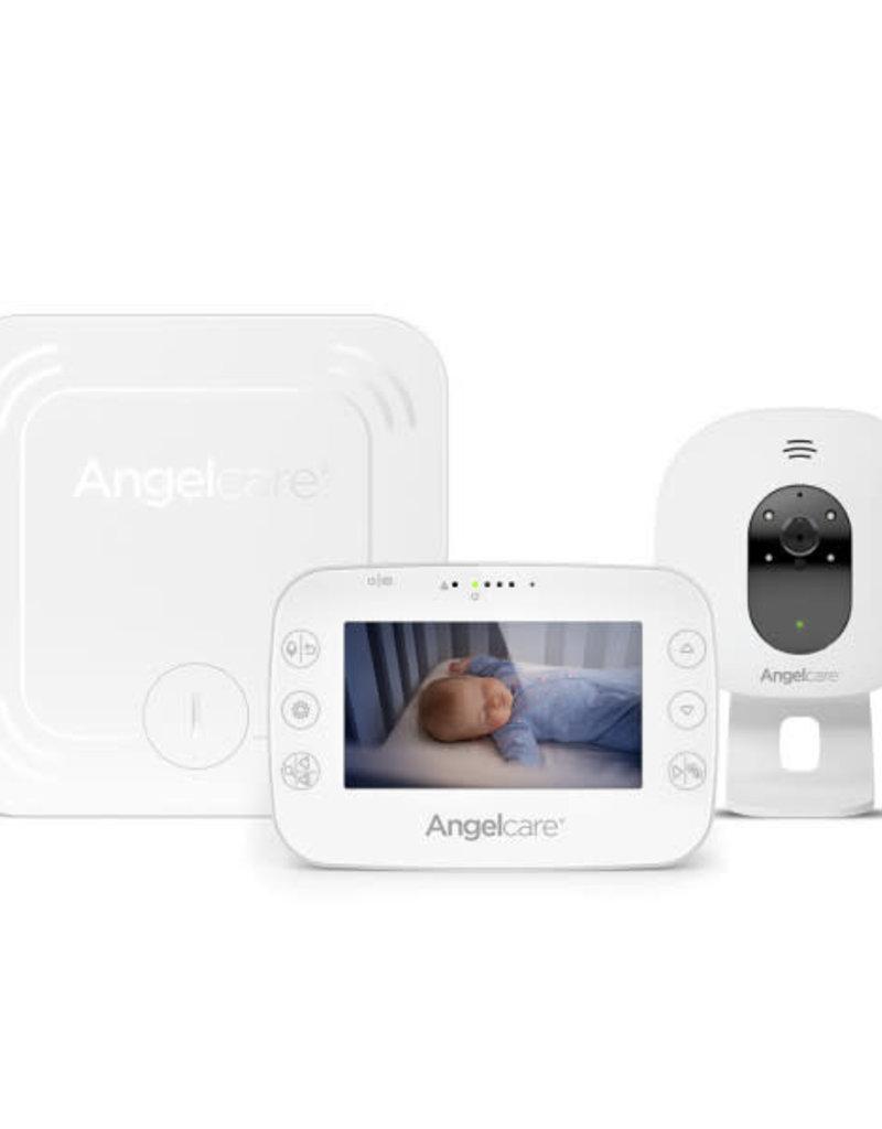 Angelcare Babybewegingsmonitor met video - 4,3 inch scherm en nachtzicht