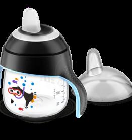 Avent Lekvrije Pinguin Beker 260 ml Zwart