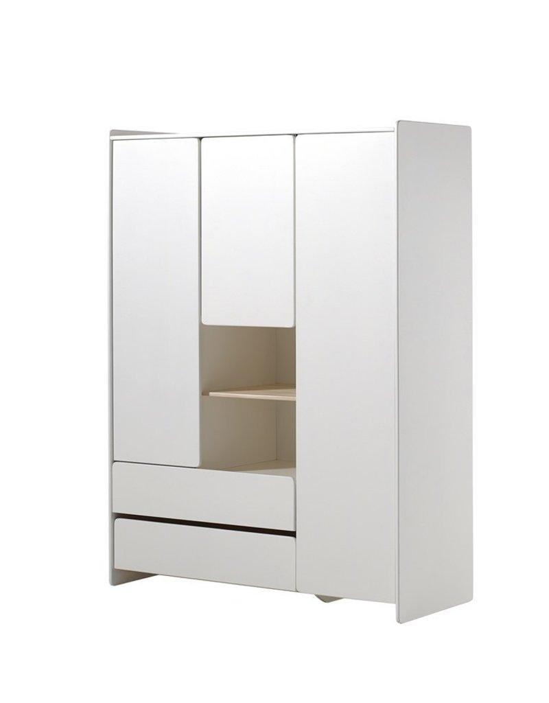 Vipack Armoire 3 portes 2 tiroirs