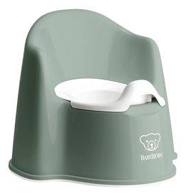 BabyBjörn Pot  vert foncé / blanc