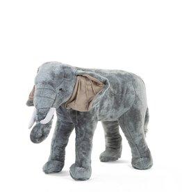 Childhome Peluche éléphant debout - 70x40x60 cm - Gris
