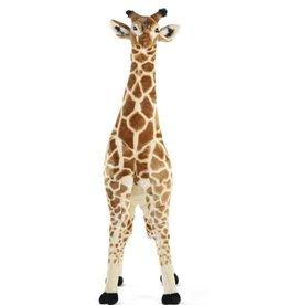 Childhome Peluche girafe debout - 50x40x135 cm - Brun jaune
