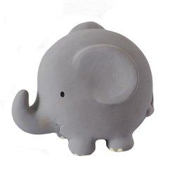Tikiri Jouet de bain en caoutchouc naturel éléphant