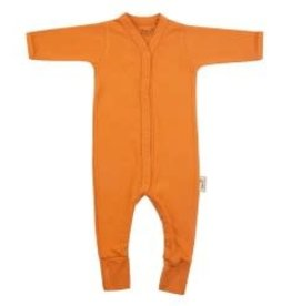 Timboo Babysuite longslevve with feet inca rust