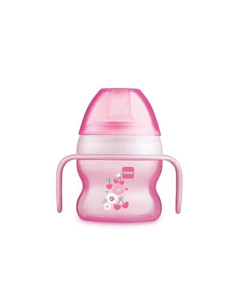Mam Starter cup 4m+ roze  150ml