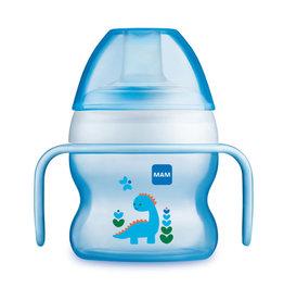 Mam Starter cup 4m+ blauw dino 150ml
