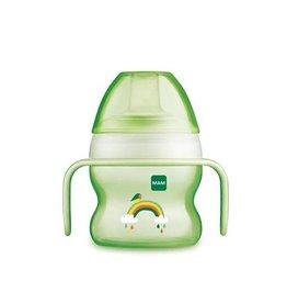 Mam Starter cup 4m+ 150ml groen regenboog