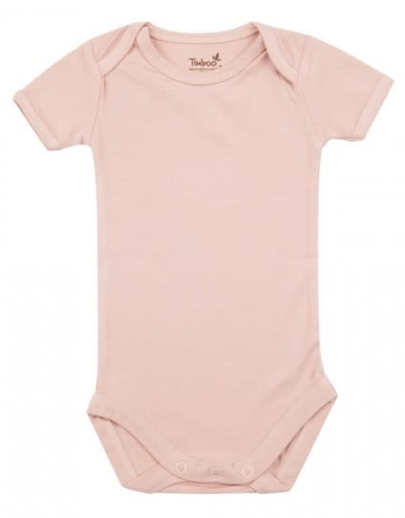Timboo Body manches courtes misty rose