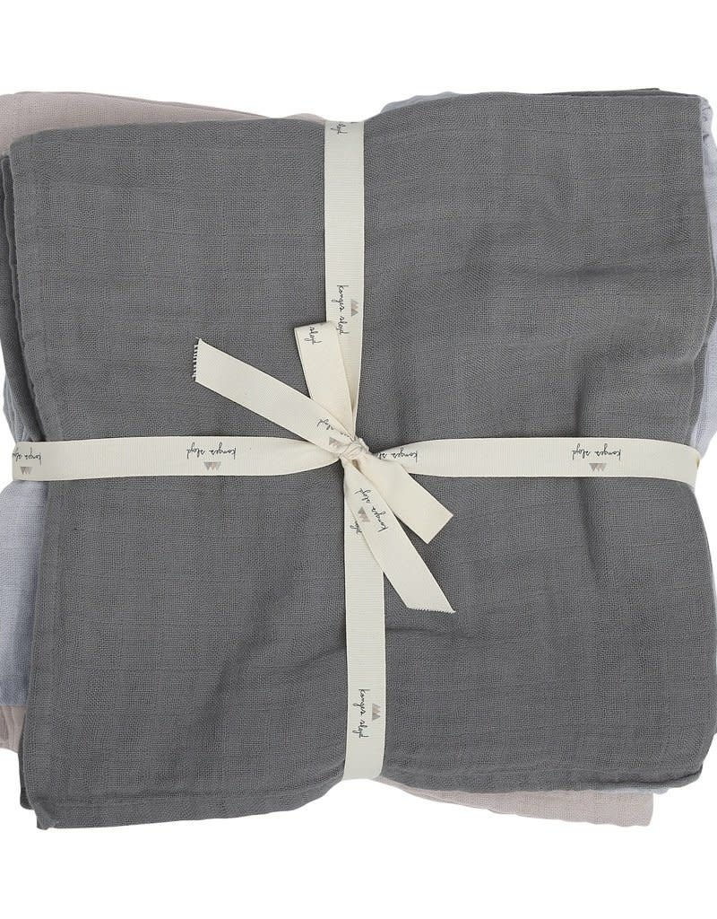 Konges slojd 10 Pack muslin cloth - Boy
