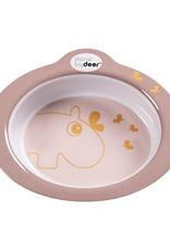 Done by Deer Anti-slip bowl Contour Powder/Gold