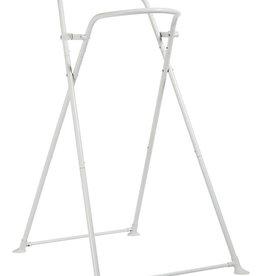 Shnuggle Badstaander Shnuggle wit metaal 103 cm opvouwbaar