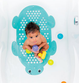 Infantino 2 in 1 bath mat & storage basket