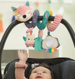 Infantino Infantino Spiral activité renard rose