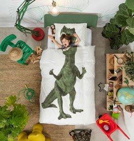 Snurk Dekbedovertrek Dino 140 x 200