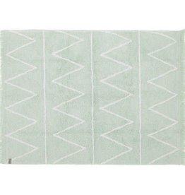 Lorena Canals Wasbaar tapijt Hippy Mint