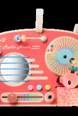 Lilliputiens Activiteitenpaneel radio