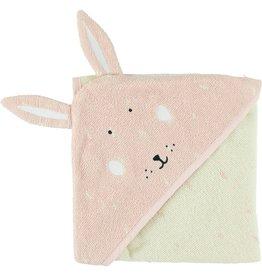 Trixie Handdoek met kap | 75x75cm - Mrs. Rabbit